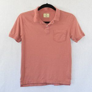 Class Club Modern Fit Pink Polo Top Size 10/12